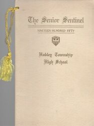 1950 Senior Sentinel - Hubley Township High School Yearbook - Valley View, Pa