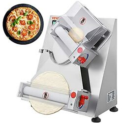 Commercial Dough Roller Sheeter 11.8inch Electric Pizza Dough 11.8 Inch Silver