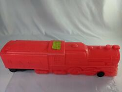 Vintage Marx Plastic Red Train Engine With Train Whistle Sound 20