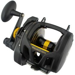 Penn Squall Lever Drag 2 Speed Reels - Uk Stock With Tracked Next Day Delivery