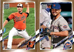 2021 Topps Series 2 Gold Parallel /2021 W/ Rc - You Pick From A List
