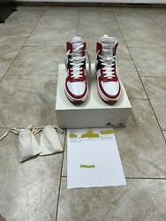 Fear Of God Basketball Sneaker Varsity Red Size 11 Us Purchased Off Fear Of God