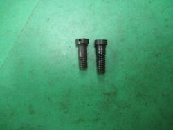 Us Springfield 1903 - Two Band Screws 1/2 And 9/16 Blue - Us Military - Nos
