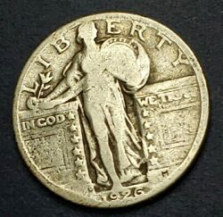 1926d Standing Liberty Quarter. A Semi-key In The 2b's. A Nice Coin.🤙