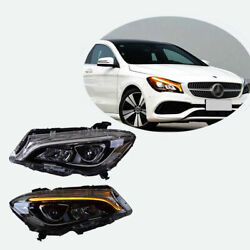 All Led Combination Headlamp For Benz Cla 14-19 Beam Projector Led Drl