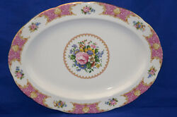 Royal Albert Lady Carlyle Large Oval Serving Platter, 16 1/2