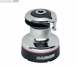 Harken 35 Radial Self-tailing Chrome Two-speed Winch