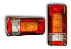2 E-marked Top Quality Rear Lights Tail Lamps Truck Lorry Trailer Car Van Pickup