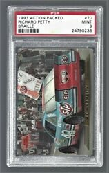 1993 Action Packed Braille Richard Petty Nascar Racing 70 Psa 9 24790238