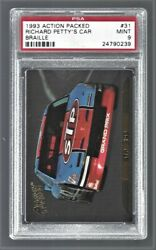 1993 Action Packed Braille Richard Petty Nascar Racing 31 Psa 9 24790239