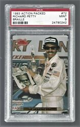 1993 Action Packed Braille Richard Petty Nascar Racing 72 Psa 9 24790242
