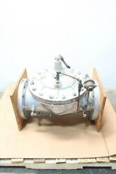 Clayton 8-91-01ab Cla-val Flanged Diaphragm Valve 8in