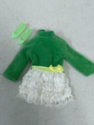 Vintage Barbie Skipper Lots Of Lace Outfit 1730