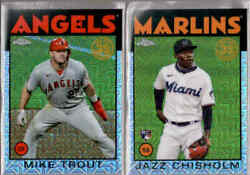 2021 Topps Series 2 1986 Silver Pack Chrome Refractor - You Pick From A List