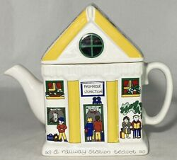 Wade England English Life Teapots Railway Station By Barry Smith Barbara Wootton