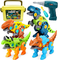 Take Apart Dinosaur Toys For Kids 5-7 - Dino Building Toy Set For Boys And Girls
