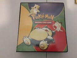 Pokemon Card Collection Lot Binder 900 Cards + Holos, Vintage Wotc Sets Only