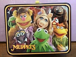 Vintage Jim Henson Muppets, Kermit The Frog Lunch Box 1979 King Seeley W Thermos