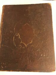 1864 Family Bible Ichabod Stevens And Mary Fuller Family Births Marriages, Etc.