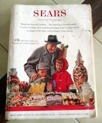 Vintage Sears, Roebuck And Co. Fall/winter 1958 Catalog 1548 Pages Philadelphia