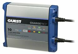 Guest On-board Battery Charger 10a / 12v 1 Bank 120v Input 2710a