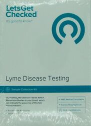 Let's Get Checked Lyme Disease Testing Sample Collection Kit - Exp 4/2022