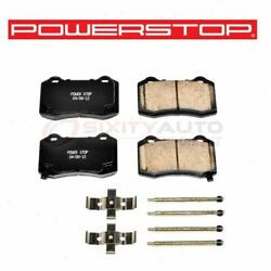 Powerstop Rear Disc Brake Pad And Hardware Kit For 2008-2017 Dodge Challenger Be