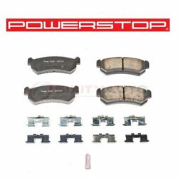 Powerstop Rear Disc Brake Pad And Hardware Kit For 2004-2006 Chevrolet Optra - Mn