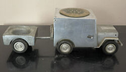 Ww2 Baier Ges-gesch Willys Jeep Lighter Ashtray Cig Box Usafe Germany Military
