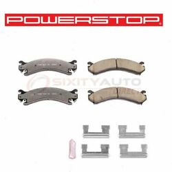 Powerstop Rear Disc Brake Pad And Hardware Kit For 2007-2010 Chevrolet Cm
