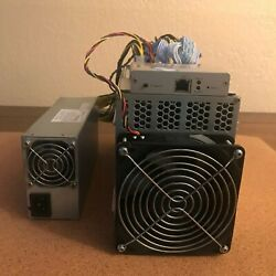 Antminer L3+ Scrypt Miner 504+ Mh/s Litecoin/dogecoin With Power Supply Ltc Doge