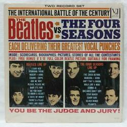 The Beatles Vs The Four Seasons Vee Jay Records Edition Us Original W 427/mn