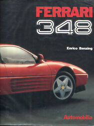 Ferrari 348 By Benzing - Great Out-of-print Book By Automobilia Multi-language