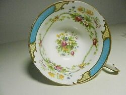 Shelley Fine Bone China Dubarry Blue Pattern 13397 Cup Only- Made In England