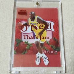 1998-99 Skybox Shaquille Oand039neal Premium Thatand039s Jam Nba Card F/s