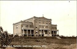 Ontario Oregon Holy Rosary Hospital Old Real Photo Postcard View