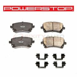 Powerstop Rear Disc Brake Pad And Hardware Kit For 2003-2004 Audi Rs6 - Nm