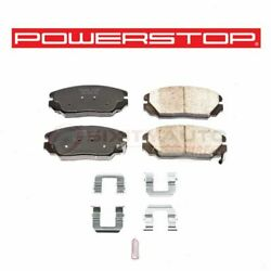 Powerstop Front Disc Brake Pad And Hardware Kit For 2007-2009 Kia Amanti - Xh