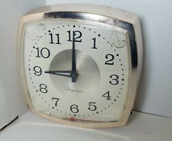 Ingraham Clock Sold As-is For Parts