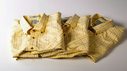 Ll Bean Shirt 100 Cotton Yellow Wrinkle Free Traditional Fit New Without Tags