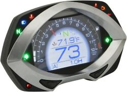 Koso Rxf Multi-function Speedometer With Backlit Display And Indicators Ba044000