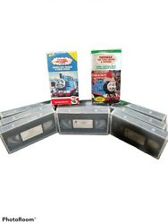 Thomas The Tank Engine Lot Of 11 Vhs Tapes George Carlin Ringo Starr Sing-along