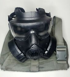 Avon M50 Gas Mask Small With Both Filters And Carry Bag