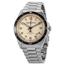 Bell And Ross Automatic Menand039s Watch Brv292-bei-st-stt