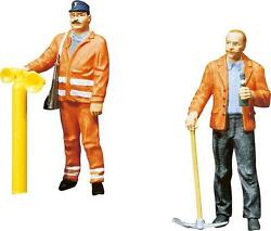 Pola G 122.5 Scale Two Track Layers / Railroad Workers Figures  331834