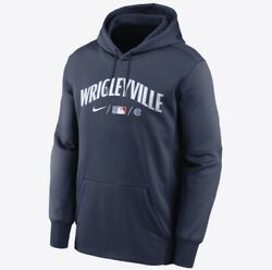 Chicago Cubs Nike Therma City Connect Men's Pullover Hoodie - Md - Wrigleyville