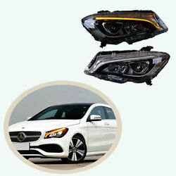 For Benz Cla 2014-2019 All Led Headlight Assembly Beam Projector Led Drl