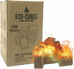 Fire Starter Squares Lighter Fireplace Campfire Grill Stove Charcoal Grills 7pcs