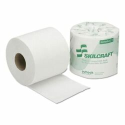 Skilcraft Toilet Tissue - 1-ply 1200 Sheets Per Roll 80/box