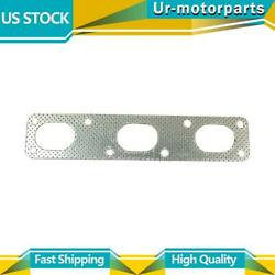 1 Rear Exhaust Pipe Flange Gasket Bosal Usa Fit Bmw 525i 2006-2007